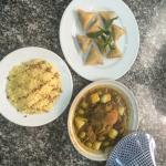 Food that I learnt to make during my cooking class
