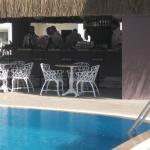 bar by the pool