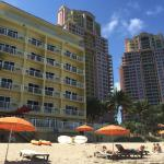 Photo of Sun Tower Hotel & Suites on the beach