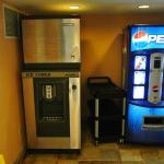 Ice machine & Vending machine on our floor