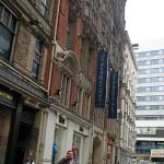 The old facade of the hotel facing New Street Station
