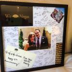 Happy Anniversary picture frame