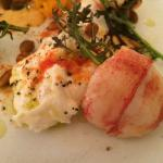 Burrata and Maine Lobster