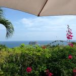 view of the pacific from breakfast terrace