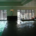 The Indoor Swimming Pool.