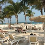 Beach side, alway empty chairs waiting for you
