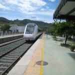 The train which stops at Benaojan station ( to Granada)