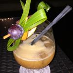 Planteur's Punch at the Resort Bar