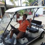 free cart to main road Kata Beach