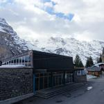 View from the room on a clear day - Murren station