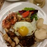 Amazing Nasi Goreng from Sense's Restaurant. Havent eaten better during my stay in Bali. The che