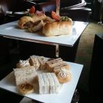 Afternoon Tea Hot Savouries and Sandwiches