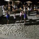 Dancing on the beach, the entertainment staff are great and plan lots of great events!