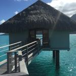 Our perfect over water bungalow