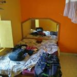 Sorry for the untidy bed :P This is what my room (room number 9) looked like. Bathroom to the ri