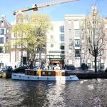 Hotel and Canal Tour boat