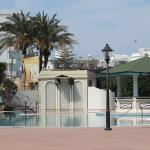 view of the pool - closed in March