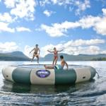 Water Trampoline on Lake Willoughby