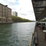 St Christopher's Canal Paris Foto
