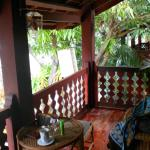 Our relaxing balcony