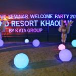 Seminar Welcome Party event took place at the time we were staying