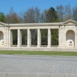 Memorial, British cemetery, Bayeux