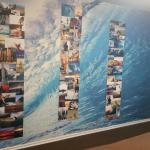 fun surf pictures on the wall