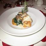 Sea Bass at French Restaurant