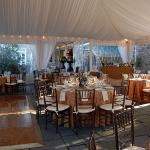 Private Event - A tented wedding on the Terrace
