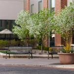 Outdoor Space at Hampton Inn and Suites Omaha Downtown