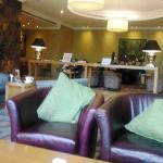 The lobby of Four Points by Sheraton Lagos, Plot 9/10 Block 2 Oniru Chieftaincy Estate, Lekki-Ep
