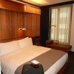 The standard rooms are fairly small but very well equipped