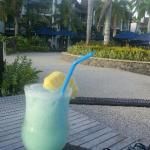 Happy hour at the Sunset Bar