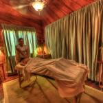 Indulge in a massage at the Island Spa