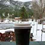 Great coffee, excellent view :)
