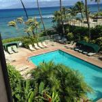Pool/ocean view from our lanai on 3rd floor.