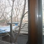 View of the Hutong from the room...behind double glazed windows