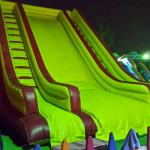 giant slides located in the marina
