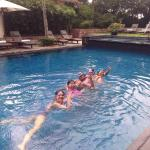 Swim at JW Marriott Health Club & Spa. All day I will be there for work-out, yoga aerobic run an