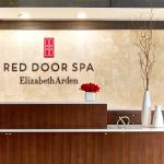 Entrance to Red Door Spa