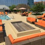 Rooftop Pool Deck-Fire Pit Coming Soon