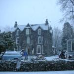 Christmas sprinkling of snow at the Grasmere