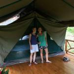 One of our tents