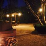 Courtyard by the fire pit
