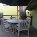 Soda Shack back deck