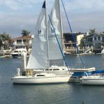 Our sailboat
