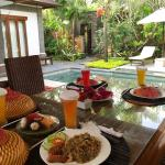 Breakfast delivered to the Villas