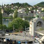 View from room - city of Lucerne