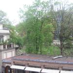 View from the Balcony of the Jewish Cemetry