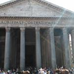 Pantheon, just a short couple of minutes stroll away